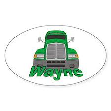 Trucker Wayne Decal