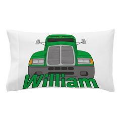 Trucker William Pillow Case