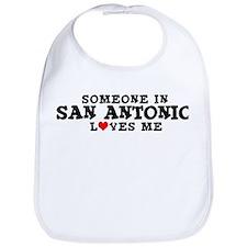 San Antonio: Loves Me Bib