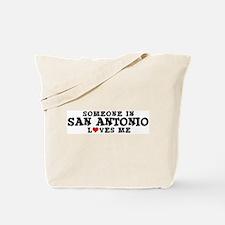 San Antonio: Loves Me Tote Bag