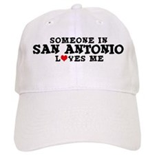 San Antonio: Loves Me Baseball Cap