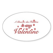 A Bouvier Des Flandres is my valentines Decal