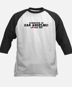 San Anselmo: Loves Me Kids Baseball Jersey