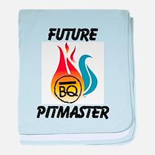 Future Pitmaster baby blanket