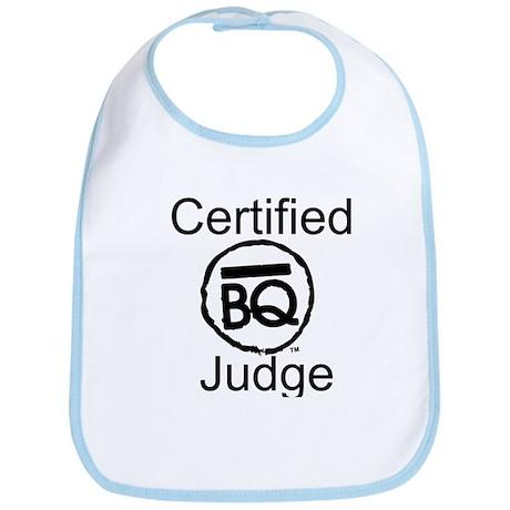 Certified BBQ Judge Bib