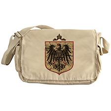 German Imperial Eagle Distressed Messenger Bag