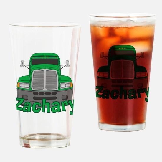Trucker Zachary Drinking Glass