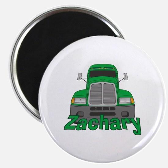 Trucker Zachary Magnet