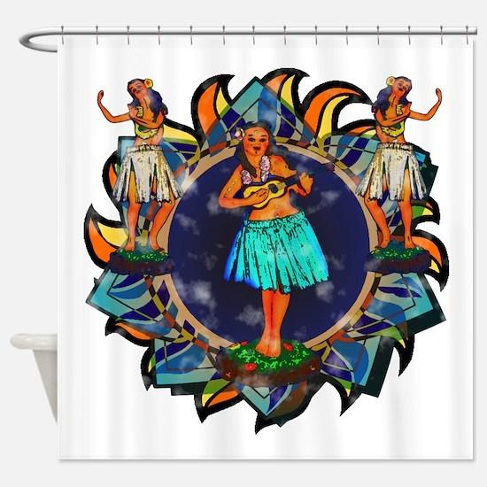 Heavenly Hulas Shower Curtain