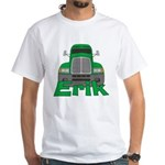 Trucker Erik White T-Shirt
