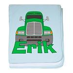 Trucker Erik baby blanket