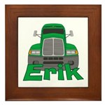 Trucker Erik Framed Tile