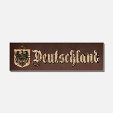 German Imperial Eagle Distressed Car Magnet 10 x 3