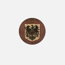 German Imperial Eagle Distressed Mini Button