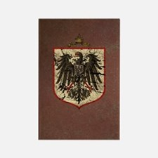 German Imperial Eagle Distressed Rectangle Magnet
