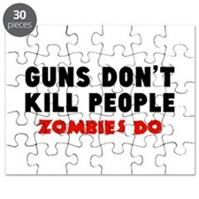 Guns don't kill people. Zombies do. Puzzle