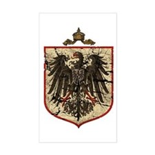 German Imperial Eagle Distressed Decal