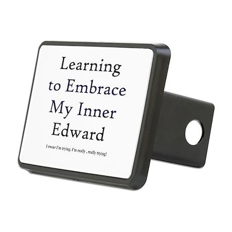 Inner Edward Rectangular Hitch Cover