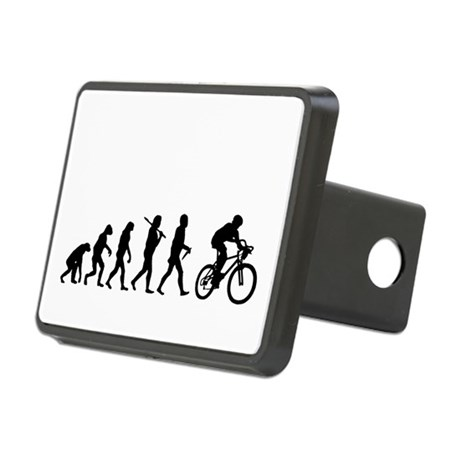 Evolution Cycling Funny Rectangular Hitch Coverle)