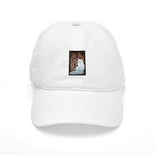 White Turkish Angora Baseball Cap
