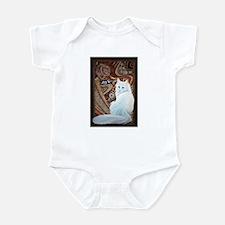 White Turkish Angora Infant Bodysuit