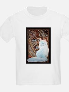 White Turkish Angora T-Shirt