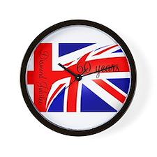 Diamond Jubilee Union Jack3 Wall Clock