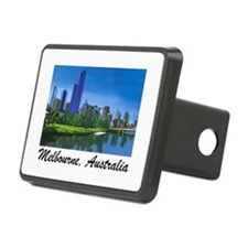 Melbourne Skyline Painting Hitch Cover