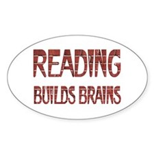 Reading Builds Brains Decal