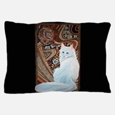 White Turkish Angora Pillow Case