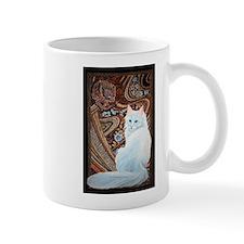 White Turkish Angora Mug