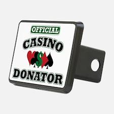 Official Casino Donator Rectangular Hitch Coverle)