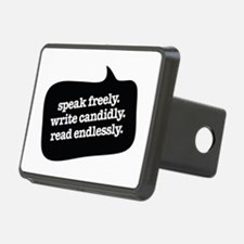 """""""Speak Freely"""" Hitch Cover"""