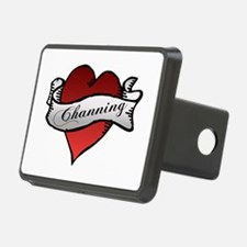 Channing Tattoo Heart Hitch Cover