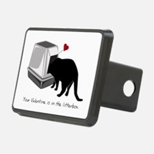 Litterbox Valentines Hitch Cover