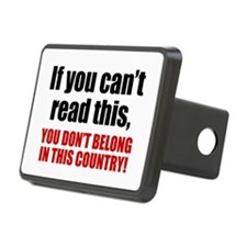 Can't Read This? Hitch Cover