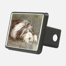 Bearded Collie Hitch Cover