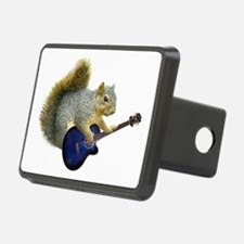Squirrel Blue Guitar Hitch Cover