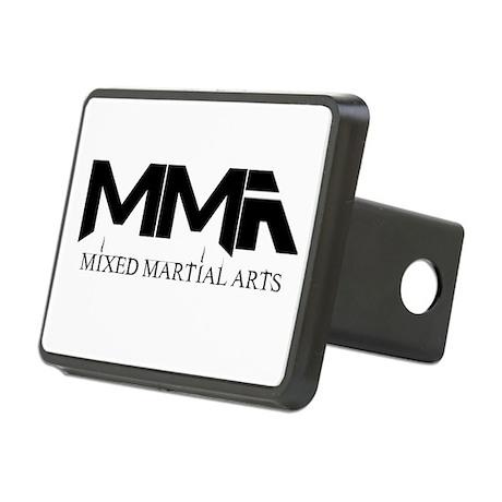 MMA Mixed Martial Arts Black Rectangular Hitch Cov