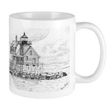 Breakwater Lighthouse, Rockland, Maine Mug