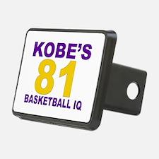 """""""Kobe's Basketball IQ: 81"""" Hitch Cover"""