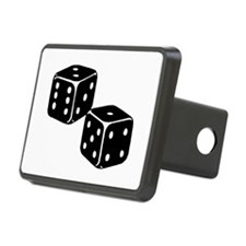 Vintage Dice Icon Hitch Coverle)