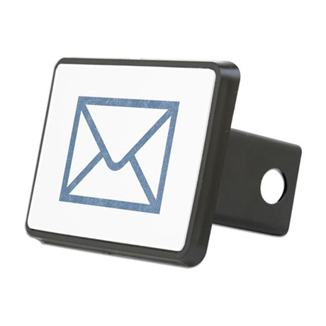 Vintage Email Rectangular Hitch Cover