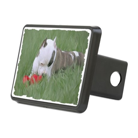 peace in the grass Rectangular Hitch Cover