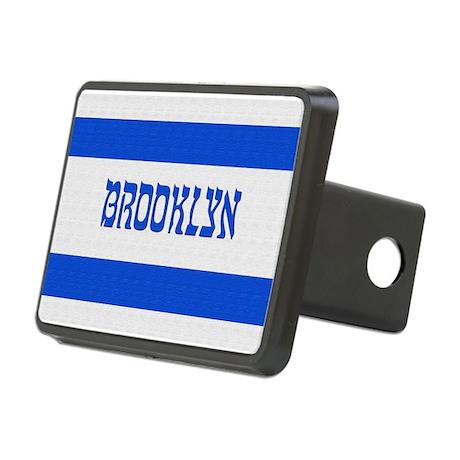Israeli Brooklyn Flag - Rectangular Hitch Cover