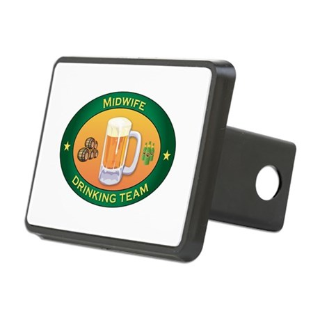 Midwife Team Rectangular Hitch Cover