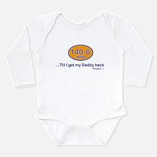 Cute Trisupporter Long Sleeve Infant Bodysuit
