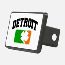 Detroit Shamrock Hitch Cover