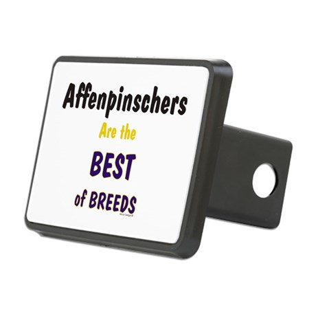 Affenpinscher Dog Rectangular Hitch Cover.)