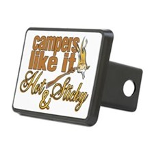 Hot & Sticky Campers Hitch Coverle)